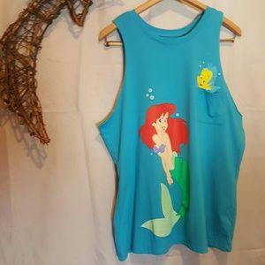 Ariel Mermaid Tank XL